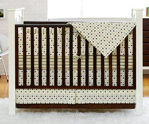 Our Picks for Transitional Cribs: Convertible Crib with Drop Side (via Parents.com)