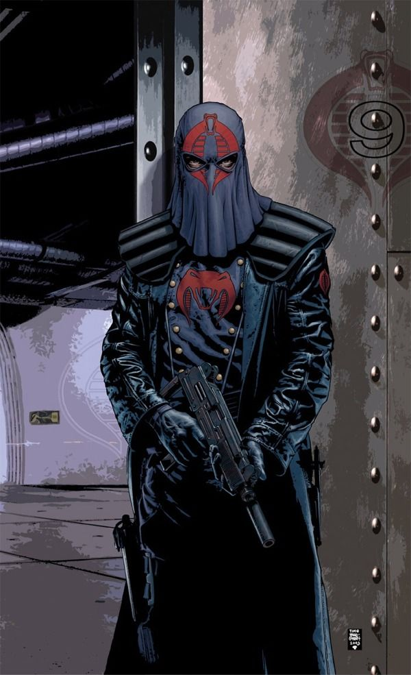 Cobra Commander! ©Tim Bradstreet