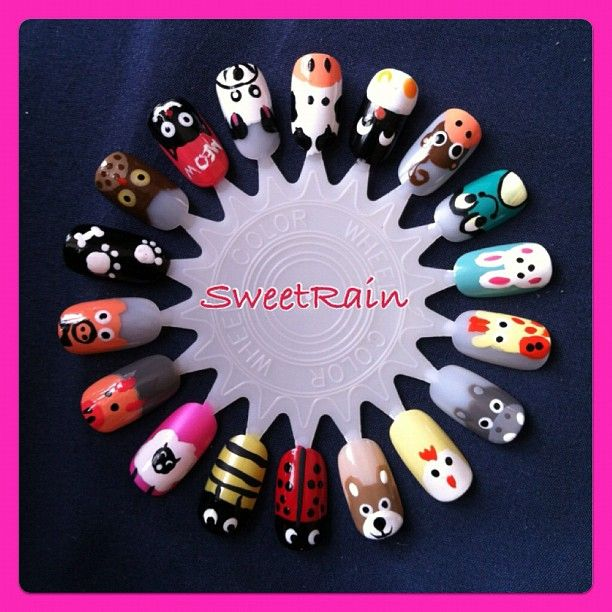 Animal Nail Art: Top 25 Ideas About Animal Nail Designs On Pinterest