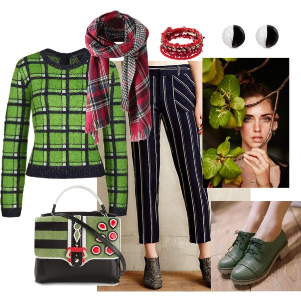 Green Line Office by asya-gorelkina on Polyvore featuring polyvore fashion style MARC BY MARC JACOBS Colorful Shoes Paula Cademartori Antica Murrina Sonoma life + style