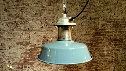 Emaille industriele lamp lloyd industrial