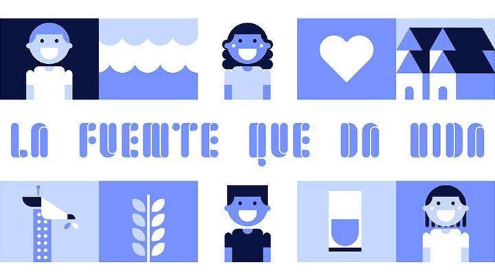 En lo más fffres.co: Una fuente tipográfica que se convierte en una fuente de agua potable: Con motivo del Día Mundial del… #Tipografía
