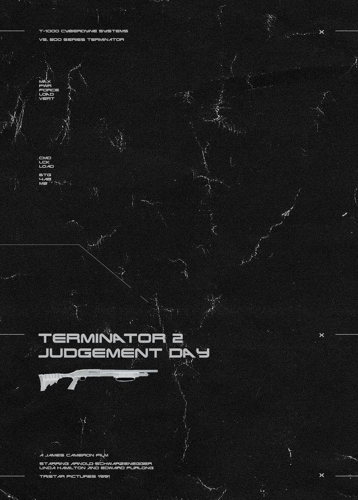 Terminator 2 | www.piclectica.com #piclectica