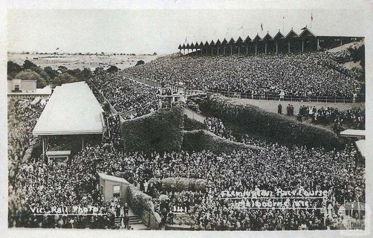 Flemington Race Course, c1910