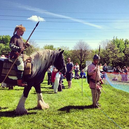 Medieval Fair at Bedes world