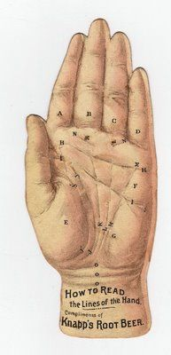 Free Vintage Clip Art - Palmistry Hand - The Graphics Fairy