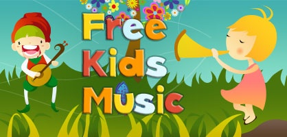 Kids Music | Kids Songs | Children Songs from Free Kids Music: This site has a lot of free songs to download from a variety of artists, lots of silly songs, some traditional,a great variety.