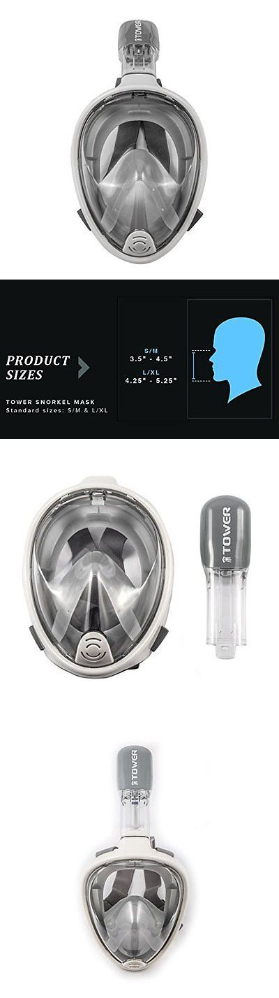 Other SCUBA and Snorkeling 1300: Tower Snorkel Mask Gray Large X-Large Snorkeling Diving Package, New -> BUY IT NOW ONLY: $64.8 on eBay! http://www.deepbluediving.org/scuba-bcd-buying-guide/