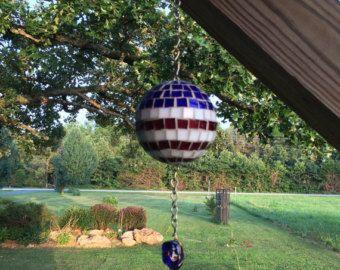 Clave griega y vidrieras florales jardín por DawgHouseCreations
