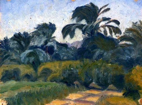 Ivan Aguéli (Suède, 1869 - 1917), Palm Grove