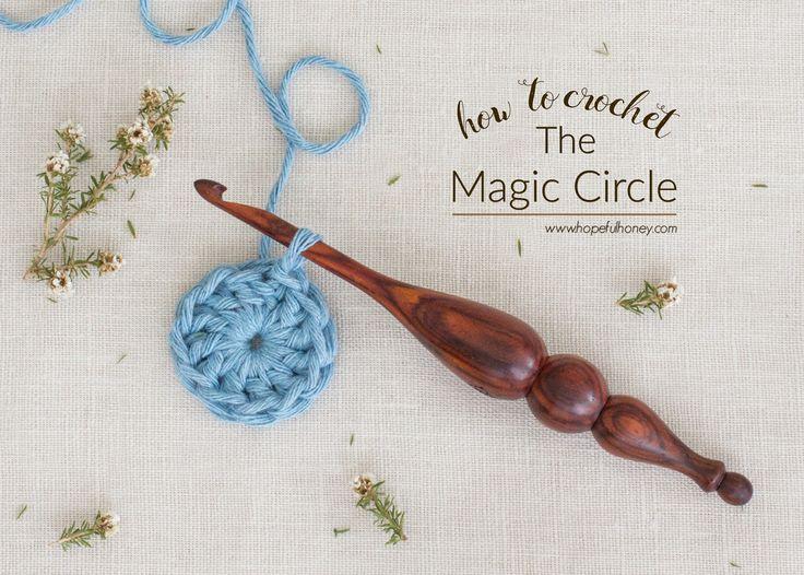 How To: Crochet The Magic Circle (Magic Loop) - Easy Tutorial