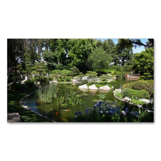 17 best images about gardener business cards on pinterest for Fish pond business