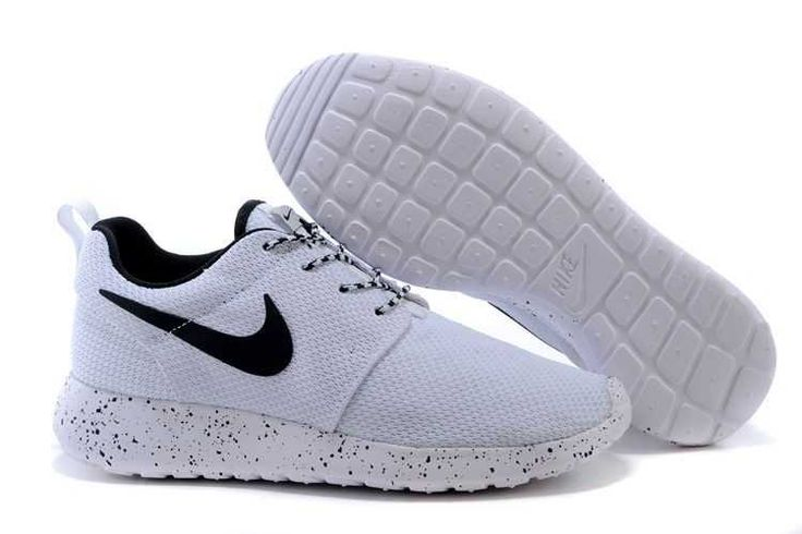 9db830bd839 Sunshine Nike Roshe Run 2015 Mesh Black White Couple