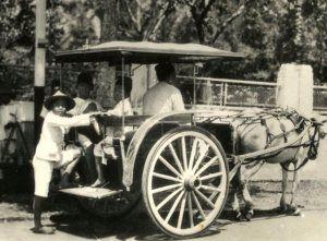 Bandoeng_Een kretek in Bandoeng_1930