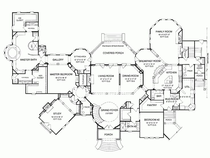 29 best house floor plan images on Pinterest | House floor plans ... - luxury floor plans
