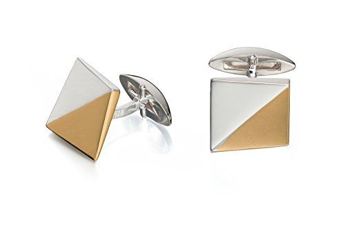 Fred Bennett Two Tone Shaped Cufflinks  Price Β£98