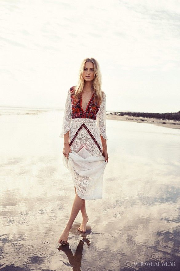 Poppy Delevingne spills on her new swimsuit collaboration exclusivly with www.whowhatwear.com  // Photo: Kat Borchart