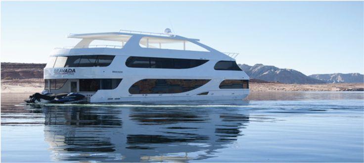 Bravada Luxury Houseboat Houseboats Pinterest Blog