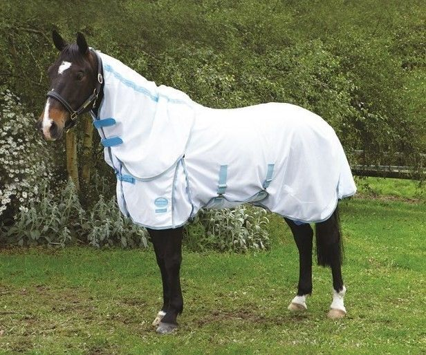 Weatherbeeta Supa-Fly Insect Sheild Detach-A-Neck Fly Sheet (Sizes 72 to 84)