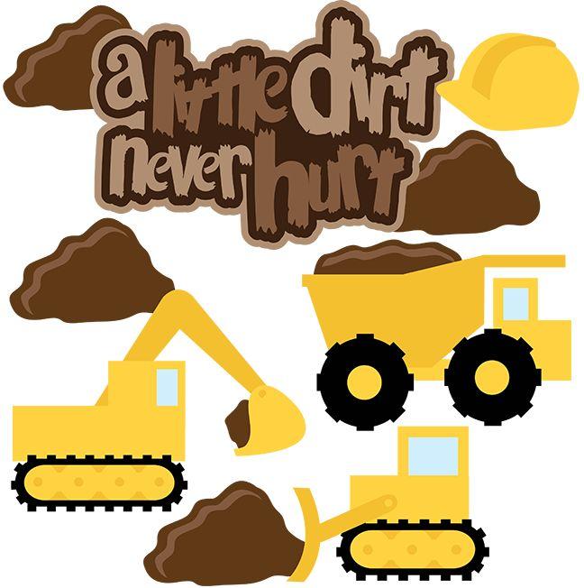 A Little Dirt Never Hurt SVG Scrapbook Collection dump truck svg file dozer svg file excavator svg file: Svg File, Scrapbook Collection, Svg Scrapbook, Scrapbook Layout, Hurts Cutout, Boys Scrapbook, Clipart Svg, Dump Trucks, Excavator Svg