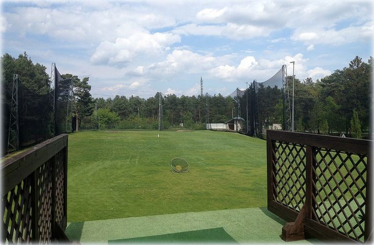 Amazing two-storey driving range