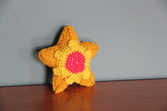 Free Staryu Pattern   Pokémon crochet challeng