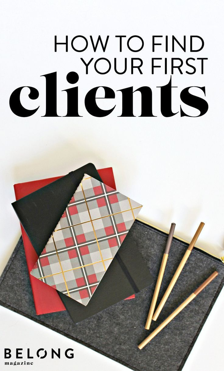 how to find your first clients belong magazine blog