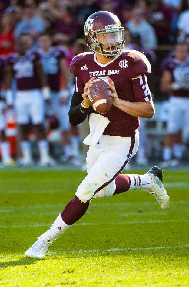 Johnny Manziel -- Texas AM Aggies Quarterback #heisman
