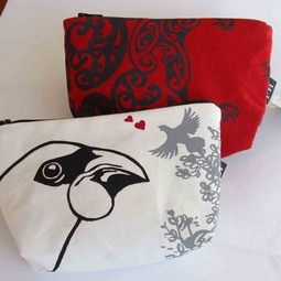 Makeup bags- NZ inspired designs
