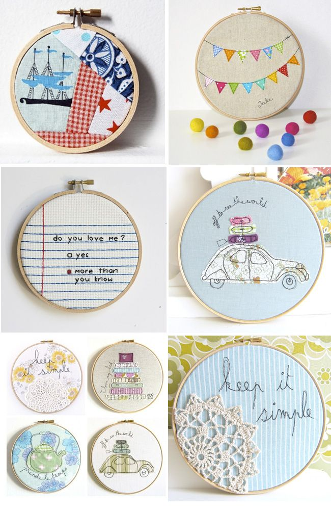 embroidery hoop messages.