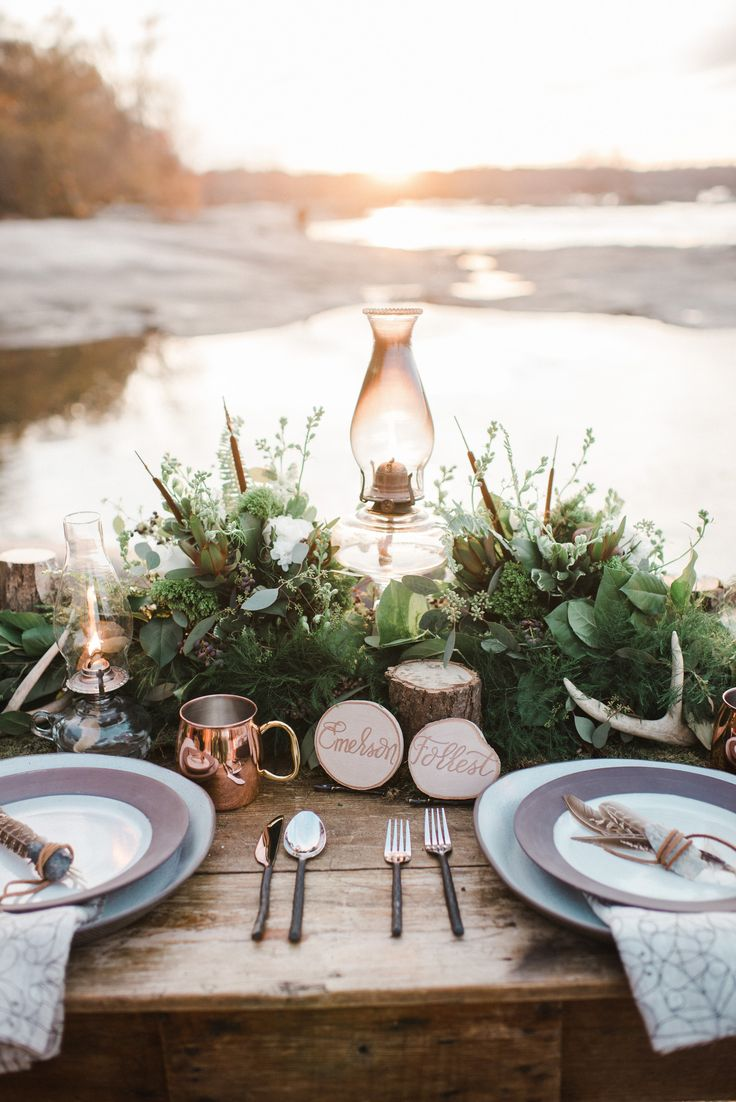 Photography: Andrea Pesce Photography - www.andreapescephoto.com Read More: http://www.stylemepretty.com/2015/02/23/earth-wind-fire-water-styled-wedding-inspiration/