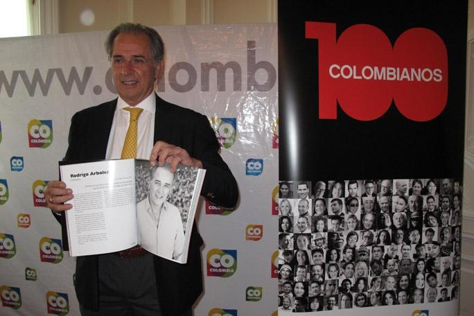 La fundación Fusionarte, con el apoyo de Marca País Colombia, eligió a los 100 colombianos que han sabido destacar en el panorama internacional http://ow.ly/fSqnt