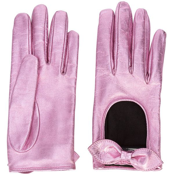 Gucci Bow Driving Gloves ($680) ❤ liked on Polyvore featuring accessories, gloves, pink, driving gloves, bow glove, gucci, gucci gloves and pink gloves