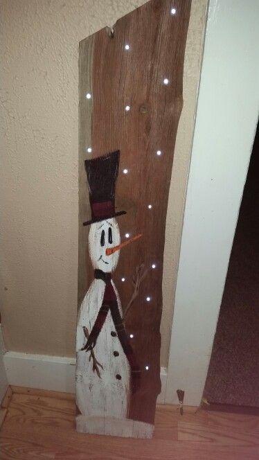 34 Best Reclaimed Wood Christmas Images On Pinterest