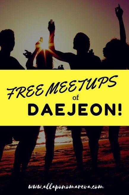 Daejeon's free meetup groups