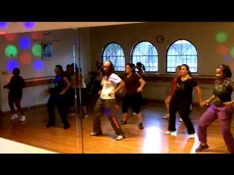 """Zumba - Usher's """"Yeah...this is how I plan on starting my mornings!!! :)"""