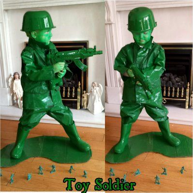 Fantastic costume taken from the Toy Soldier in Toy Story! & 224 best Halloween Costumes Inspirations For Kids images on ...