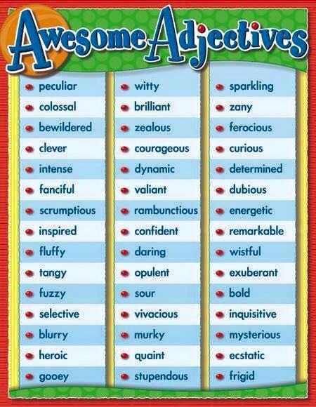 #adjectives