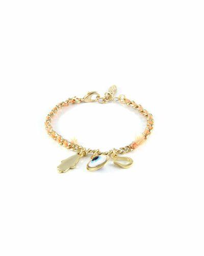 See No Evil Triple Trinket Bracelet