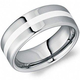 Crown Ring - Collections Alternative Metal Tungsten Carbide Tu 0010 Si