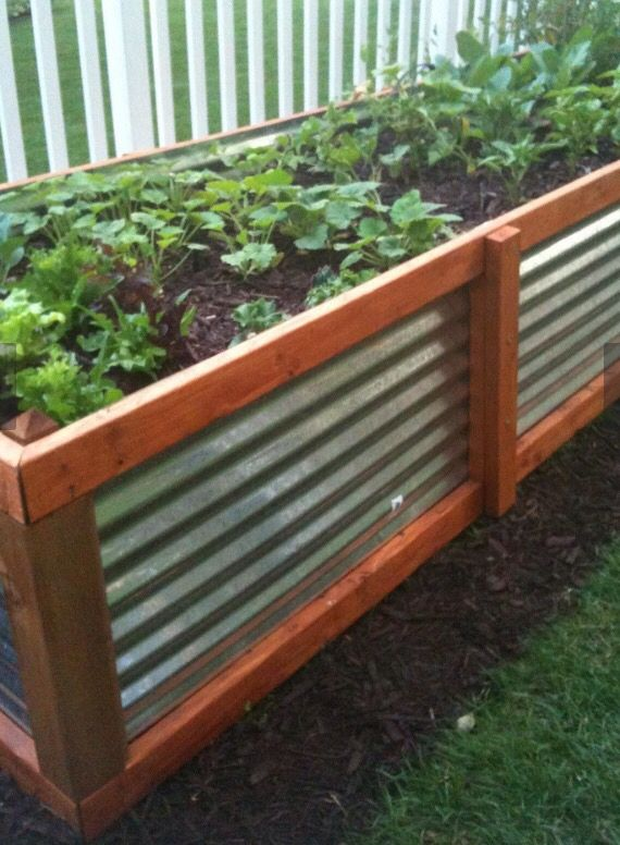 Great materials for raised beds.
