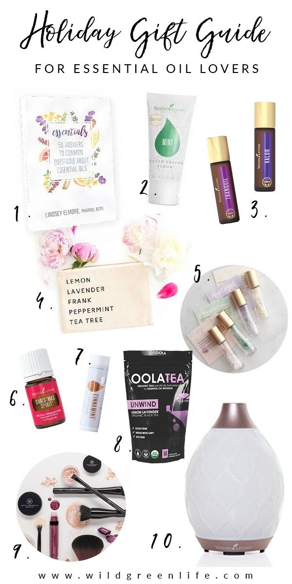 2020 Doterra Christmas Gift Guide Pin by Tina Leos on ❤Young Living in 2020 | Essential oils gifts