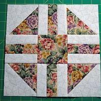 "Free Quilt Block Patterns, M through S: Paths and Stiles Quilt Block Pattern - 9"" Blocks"