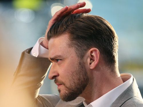 Men's Signature Hairstyles - Justin Timberlake Hairstyle - Redbook