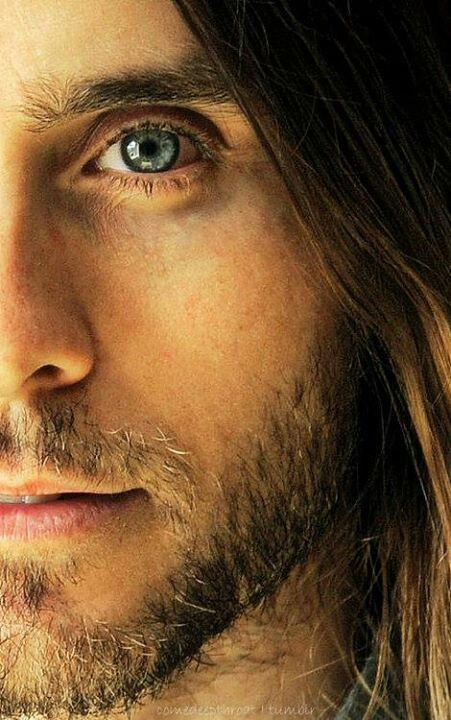 Careful not to look Jared Leto directly in the eye - -  you might explode ;)