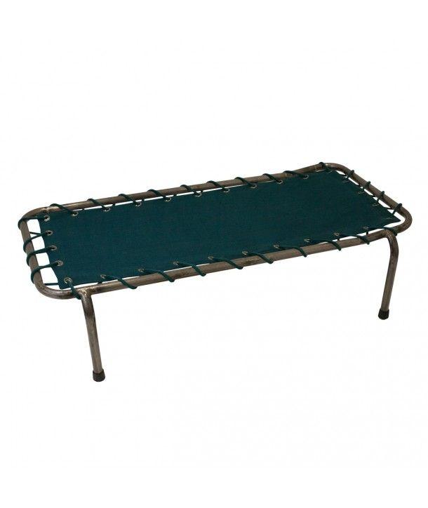 School Metal Bed teal blue