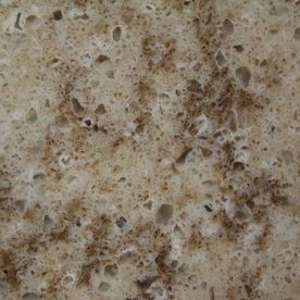 I like quartz, but it may be too pricey.  allen   roth 4-in W x 4-in L Kelsey Creek Quartz Kitchen Countertop Sample