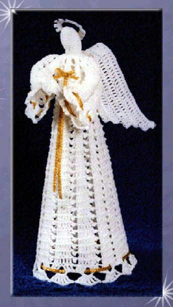 Free Crochet Angel Square Patterns : 93 best ideas about Crochet - Angels on Pinterest ...