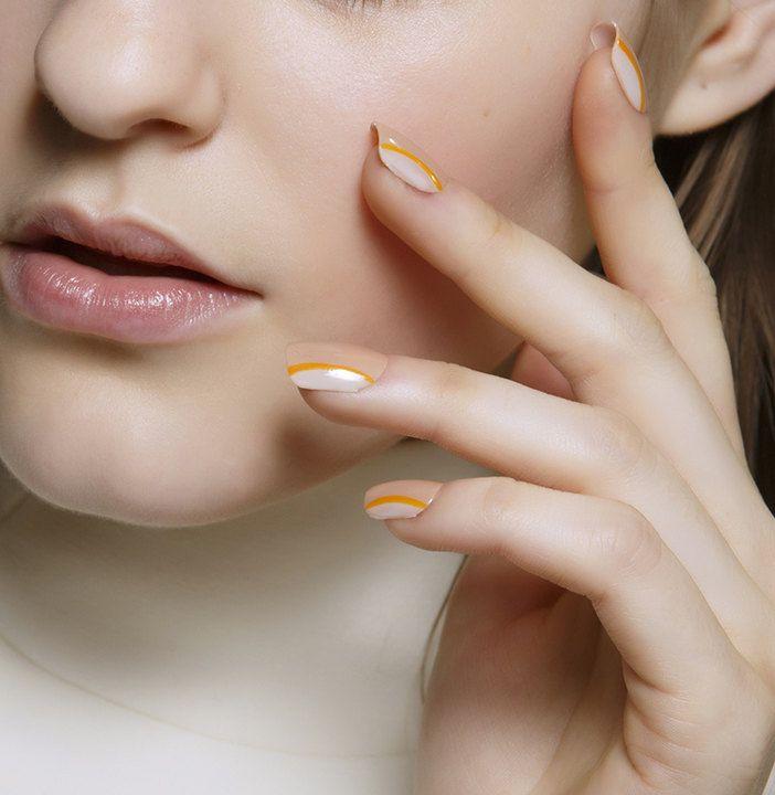 Пастельные ногти