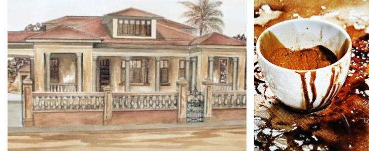 Arfé, adica modalitatea de a realiza creatii artistice prin imprimarea panzei cu cafea. Pictura din imagine apartine unuia dintre initiatorii acestei arte - Francisco Rivera Rosa. Detalii pe blog: http://www.manufacturat.ro/fara-categorie/arfe-pictura-cu-cafea/